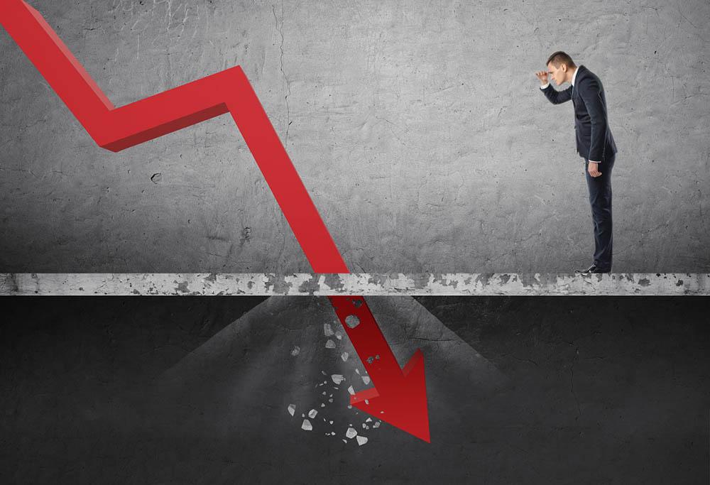 Криза заради непригодно държавно финансово управление