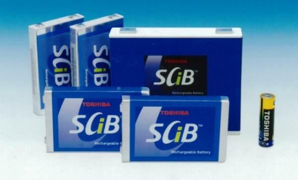 100% пълно зареждане с батериите Scib на Toshiba
